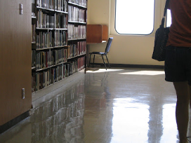 You can claim for slip injury accidents on Slippery Floors in public places such as libraries